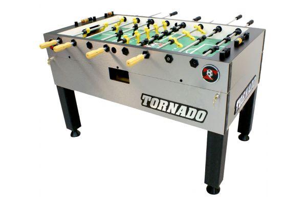 Tornado T-3000 Silver Foosball Table - TPYMSTP3