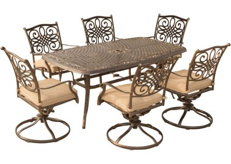 Hanover - TRADITIONS7PCSW-6 - Patio Dining Sets