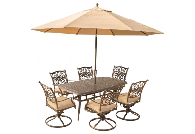 Hanover - TRADITIONS7PCSW6-SU - Patio Dining Sets