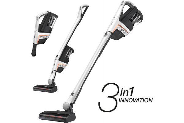 Large image of Miele Triflex HX1 Lotus White Cordless Stick Vacuum Cleaner - 11423870