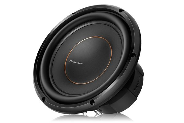 "Large image of Pioneer 10"" Dual 4 Ohm Voice Coil Subwoofer - TS-D10D4"
