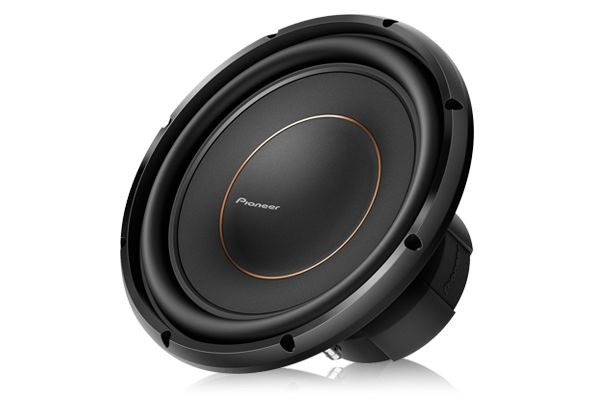 "Large image of Pioneer 12"" Dual 4 Ohm Voice Coil Subwoofer - TS-D12D4"
