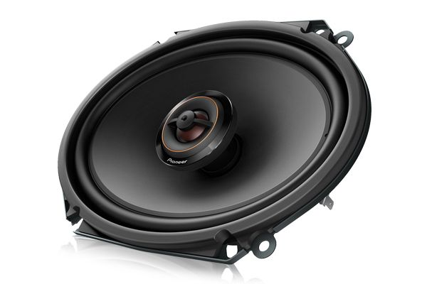 """Large image of Pioneer 6 x 8"""" 2-Way Coaxial System (Pair) - TS-D68F"""