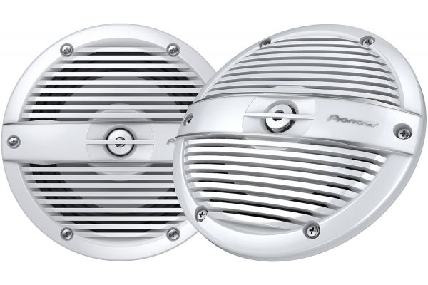 """Large image of Pioneer ME-Series 6.5"""" White Marine Coaxial Speakers - TS-ME650FC"""