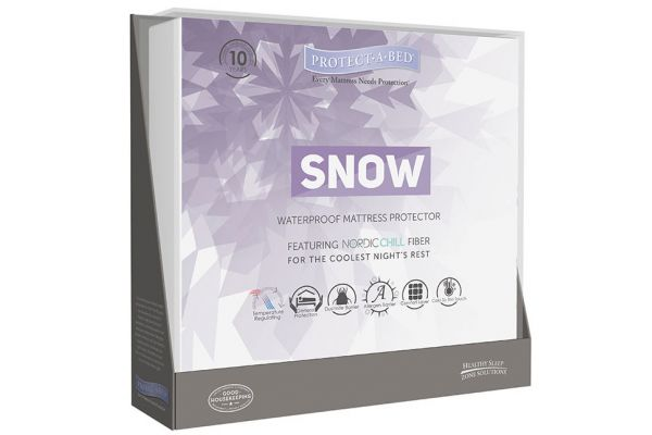 Protect-A-Bed Twin Snow Mattress Protector - TSS0111