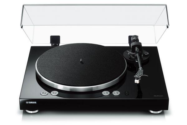 Large image of Yamaha Black MusicCast VINYL 500 Wi-Fi Turntable - TT-N503BL