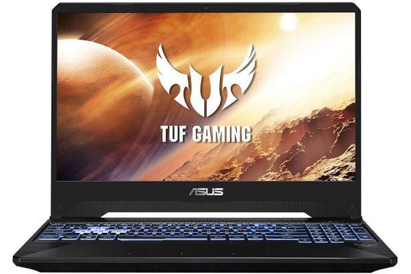 """Asus TUF Gun Metal 15.6"""" Gaming Laptop AMD 7-3750H 8GB RAM 256GB + 1TB, NVIDIA GeForce GTX 1650 - TUF505DT-RB73"""
