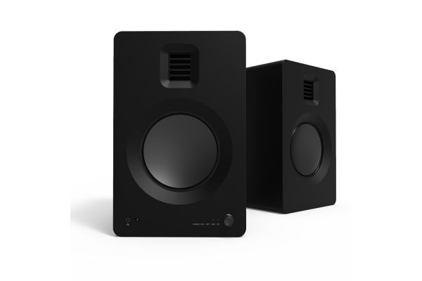 Large image of Kanto TUK Matte Black Bluetooth Premium Powered Speakers - TUKMB