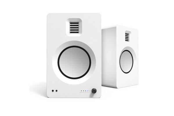 Large image of Kanto TUK Matte White Bluetooth Premium Powered Speakers - TUKMW