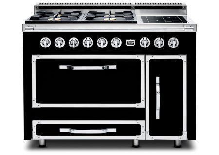 "Viking 48"" Tuscany Series Pro-Style Graphite Black Dual Fuel Range - TVDR4806BGB"