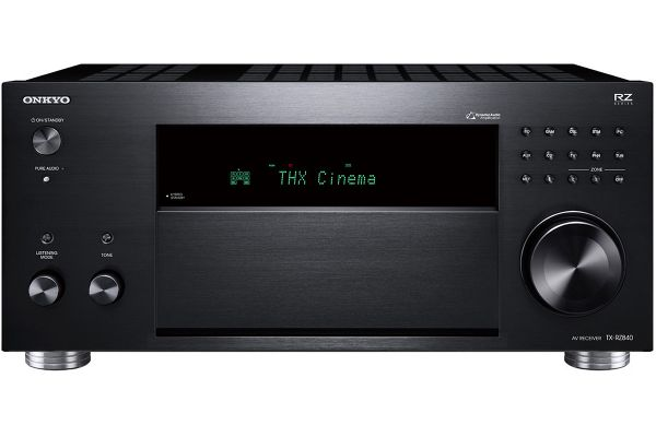 Large image of Onkyo 9.2-Channel Black Network A/V Receiver - TX-RZ840