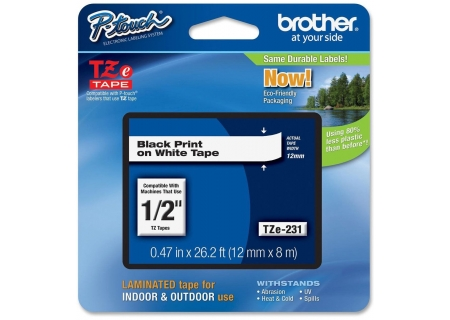 Brother - TZE-2312PK - Printers & Scanners