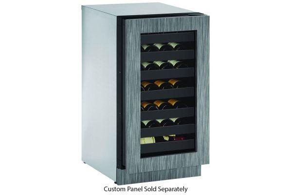 "Large image of U-Line 2000 Series 18"" Integrated Frame Wine Refrigerator - U-2218WCINT-00B"