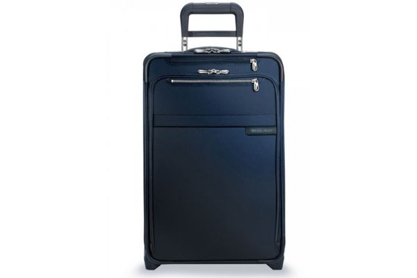 Large image of Briggs & Riley Navy Domestic Carry-On Expandable Upright (Two-Wheel) - U122CX-5