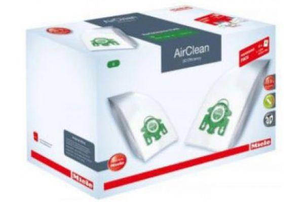 Large image of Miele Performance Pack - AirClean 3D Efficiency FilterBags Type U + HA30 HEPA Filter - 10512530