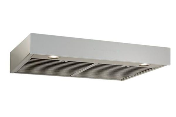 "Large image of Best Ispira 30"" Stainless Steel With Grey Glass Under-Cabinet Range Hood - UCB3I30SBS"