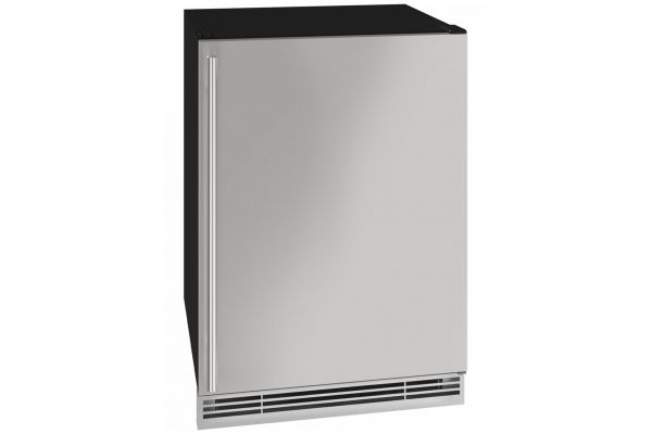 """Large image of U-Line 24"""" Stainless Steel Beverage Center - UHBV024-SS01A"""