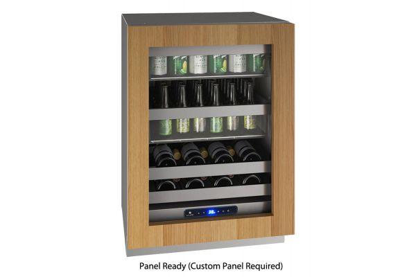 "Large image of U-Line 24"" Integrated Frame Beverage Center - UHBV524-IG01A"