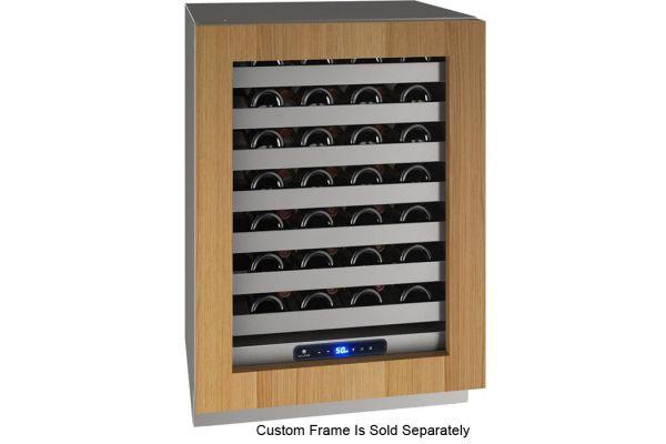 "Large image of U-Line 24"" Integrated Frame Wine Refrigerator - UHWC524-IG01A"