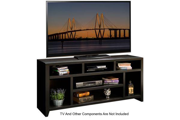 "Large image of Legends Furniture 66"" Urban Loft TV Console - UL1209-MOC"