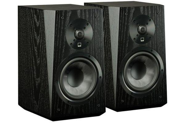 Large image of SVS Black Oak Veneer Ultra Bookshelf Speakers - ULTRABOOKSHELFBO