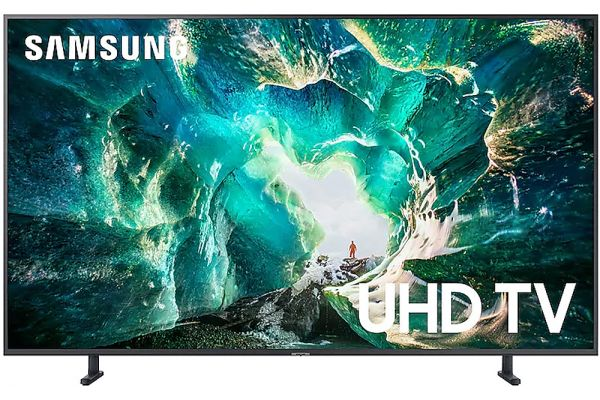 Samsung 49 Inch 4K TV with HDR10+ Support and Apple TV App - UN49RU8000FXZA