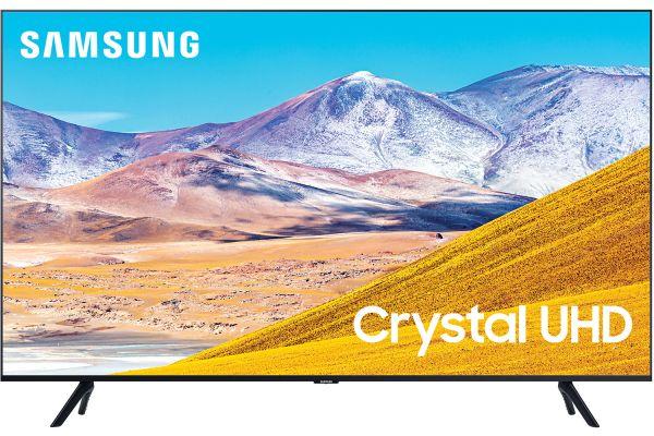 "Large image of Samsung 65"" TU8000 Black Crystal UHD 4K Smart HDTV - UN65TU8000FXZA"
