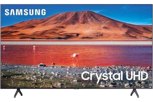 "Large image of Samsung 75"" TU7000 Titan Gray Crystal UHD 4K Smart HDTV - UN75TU7000FXZA"