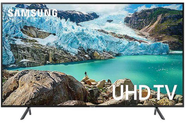 "Samsung 58"" RU7100 Charcoal Black LED 4K UHD TV - UN58RU7100FXZA"