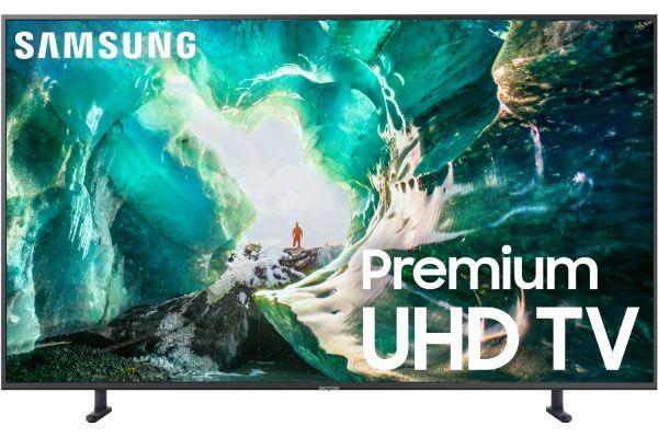 "Large image of Samsung 8 Series 65"" RU8000 Titan Gray 4K UHD Smart HDTV - UN65RU8000FXZA"