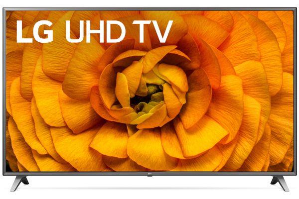 "Large image of LG 82"" Black 4K HDR Smart LED TV - 82UN8570PUC"