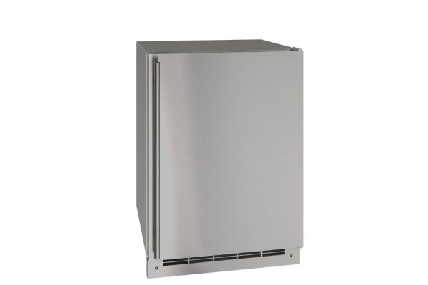 """U-Line Stainless Solid 24"""" Outdoor Refrigerator - UORE124-SS01A"""