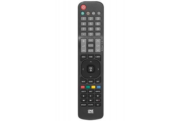 Large image of One For All Replacement Remote Control LG TV - URC1811