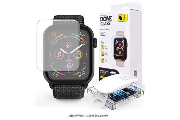 Whitestone Apple Watch 44mm Dome Glass - USAWSP-01