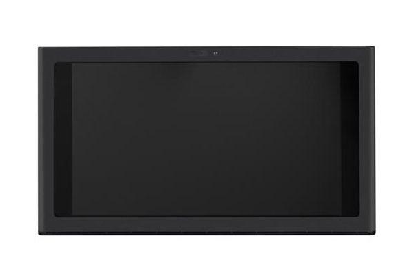 """Large image of GE 30"""" Matte Black Under Cabinet Hood & Kitchen Hub - UVH13013MDS"""