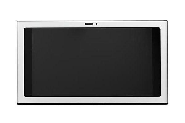 "Large image of GE 30"" Matte White Under Cabinet Hood & Kitchen Hub - UVH13014MWM"