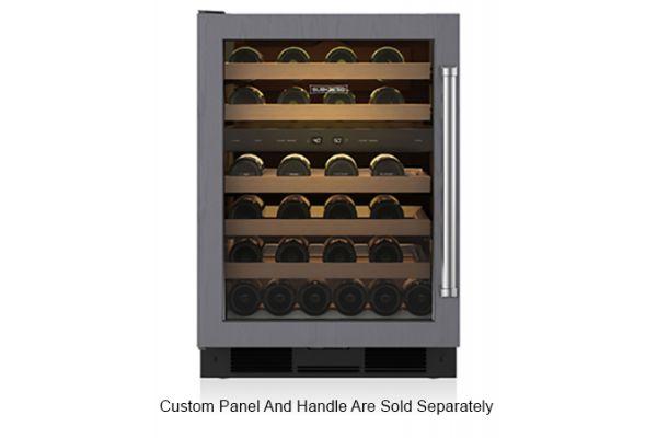 """Large image of Sub-Zero 24"""" Panel Ready Left Hinge Wine Storage Refrigerator - UW24OLH"""