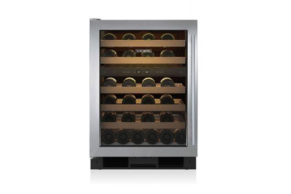 """Large image of Sub-Zero 24"""" Left Hinge Wine Storage Refrigerator - UW24STHLH"""