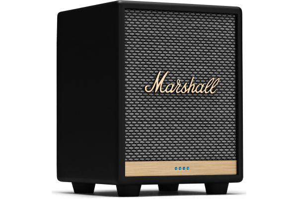 Large image of Marshall Uxbridge Voice Black Bluetooth Speaker With Amazon Alexa - 1005605