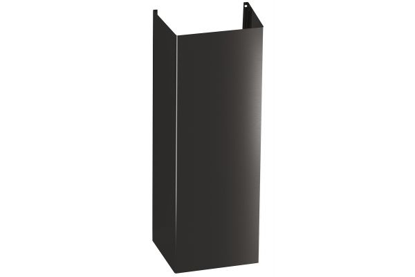 Large image of GE 10' Black Stainless Ceiling Duct Cover Kit - UXDC53BJTS