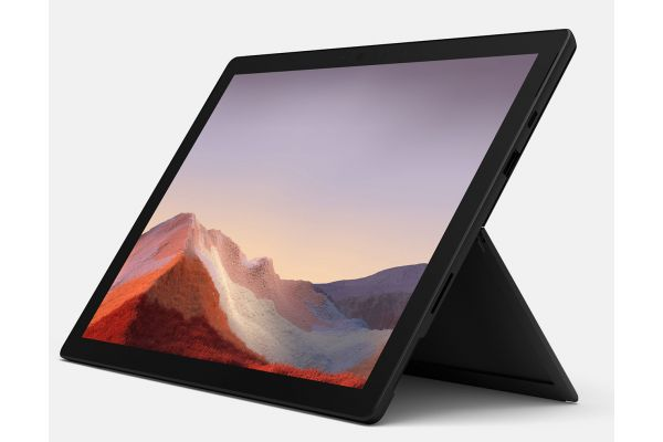"Large image of Microsoft Multi-Touch Surface Pro 7 12.3"" 512GB i7 Matte Black Tablet Computer - VAT-00016"