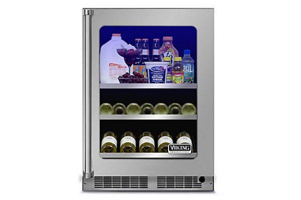 "Viking 24"" Professional Stainless Steel Beverage Center - VBUI5240GRSS"