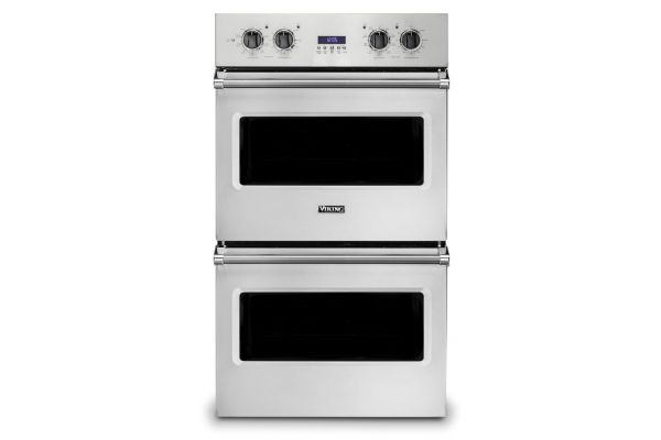 """Large image of Viking 30"""" Professional 5 Series Stainless Steel Select Double Wall Oven - VDOE130SS"""