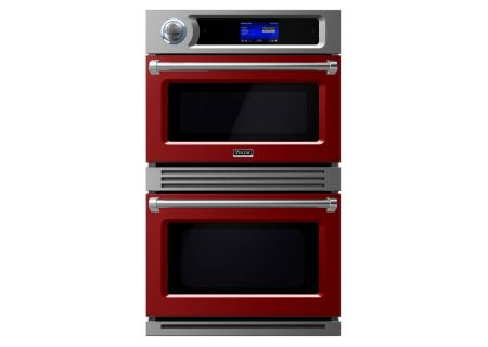 "Viking 30"" Professional 7 Series TurboChef Apple Red Built-In Double Electric Oven - VDOT730AR"