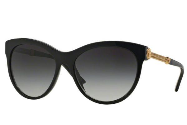 Large image of Versace Cat Eye Oversized Phantos Black Womens Sunglasses - 0VE4292 GB1/8G 57