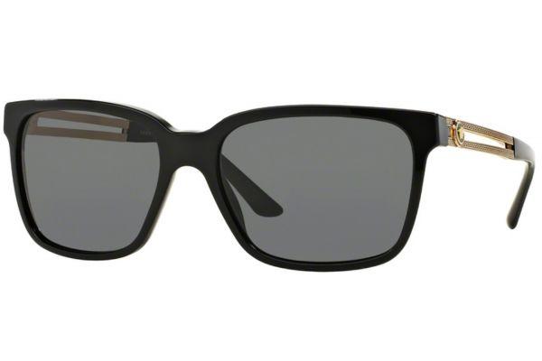 Versace Square Black Mens Sunglasses - VE4307GB18758