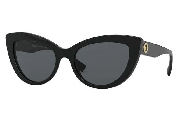 Large image of Versace Butterfly Black Medusa Womens Sunglasses - VE4388GB187-54