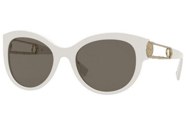 Large image of Versace Pillow Shape White Sunglasses - VE43893143-55