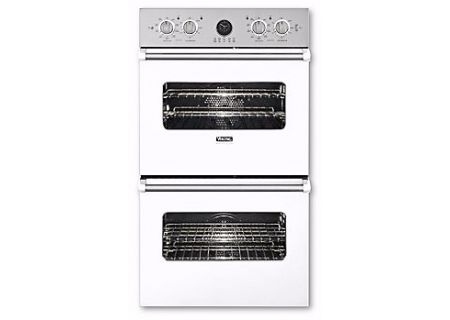"Viking Professional Series Premiere 30"" White Built-In Double Electric Oven - VEDO5302WH"