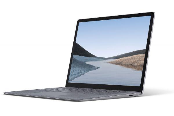 "Microsoft Surface Laptop 3 13.5"" 256GB i7 Platinum Laptop Computer - VEF-00001"